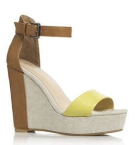 Two part high wedges